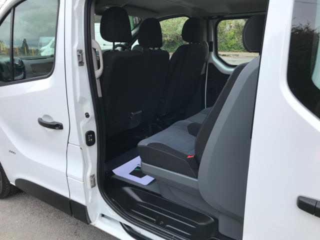 2017 Vauxhall Vivaro 2900 1.6Cdti 120Ps H1 Doublecab (DY67DRX) Image 28
