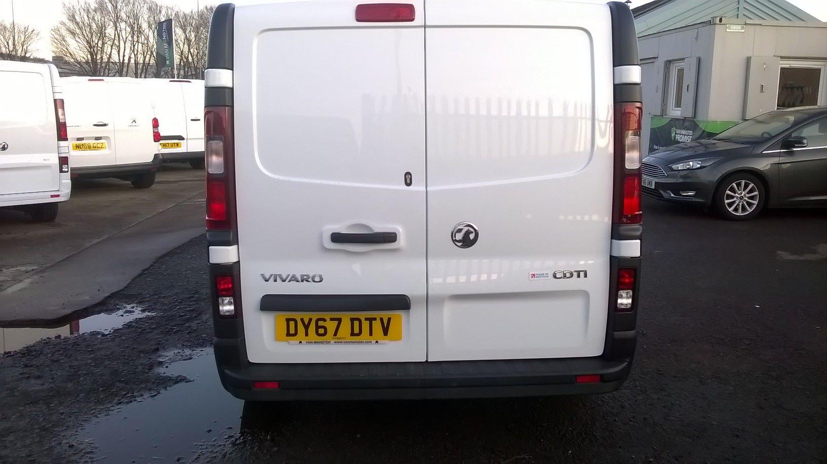 2017 Vauxhall Vivaro 2900 1.6CDTI 120Ps H1 D/CAB EURO 6 (DY67DTV) Image 8