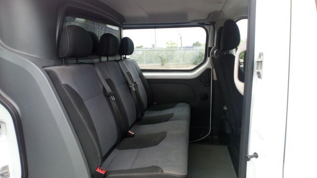 2017 Vauxhall Vivaro 2900 1.6Cdti 120Ps H1 Doublecab (DY67DVB) Image 13