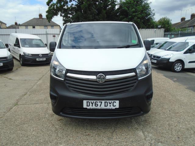 2017 Vauxhall Vivaro 2900 1.6Cdti 120Ps H1 Van *EURO 6* (DY67DYC) Image 2