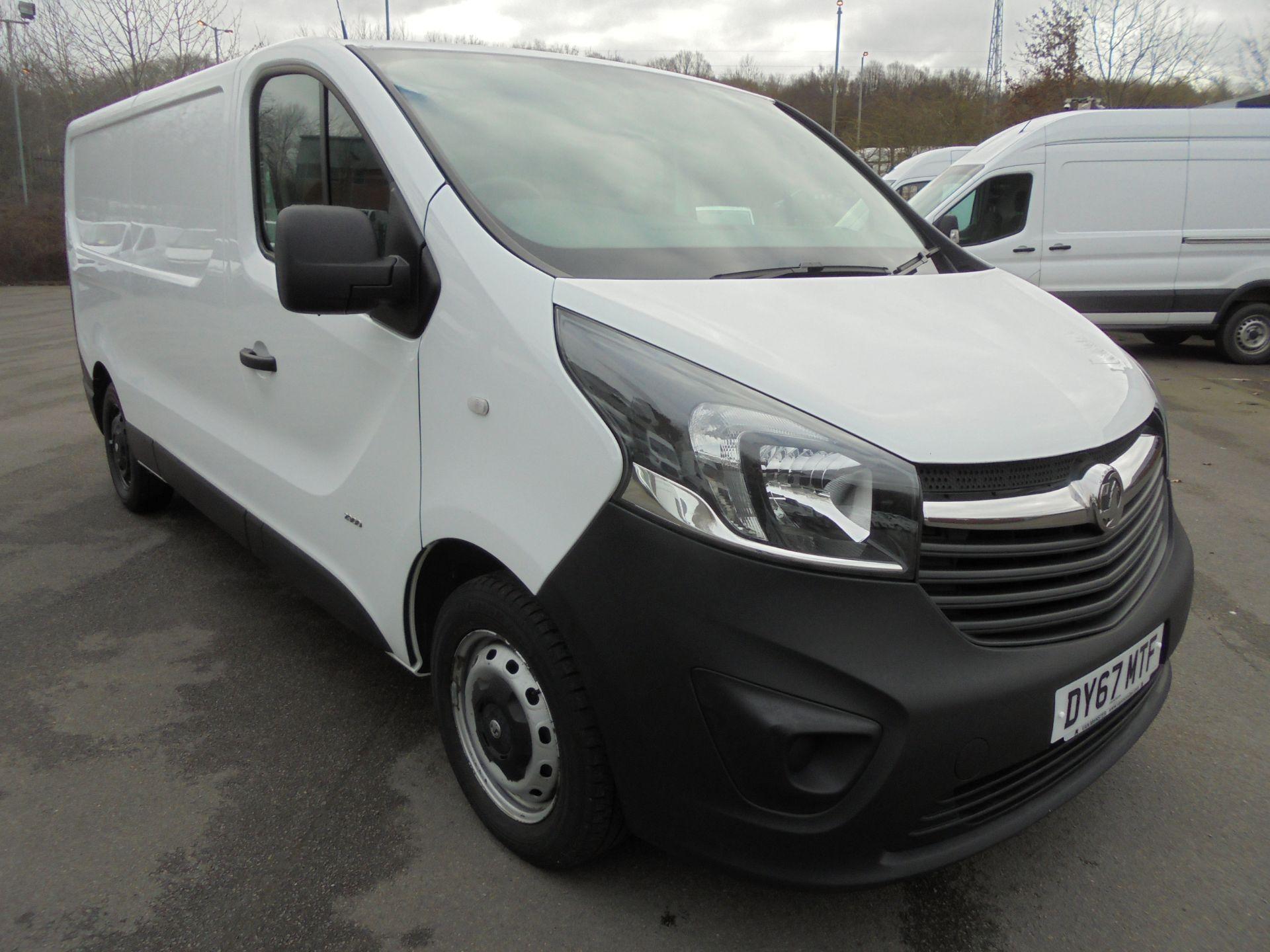 2017 Vauxhall Vivaro 2900 1.6Cdti 120Ps H1 Van (DY67MTF)