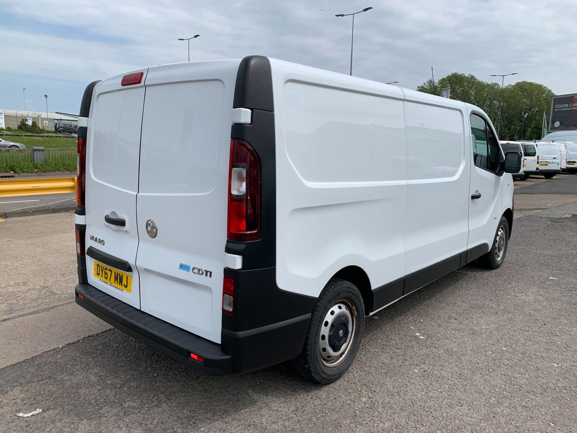 2017 Vauxhall Vivaro 2900 1.6Cdti 120Ps H1 Van (DY67MWJ) Image 13