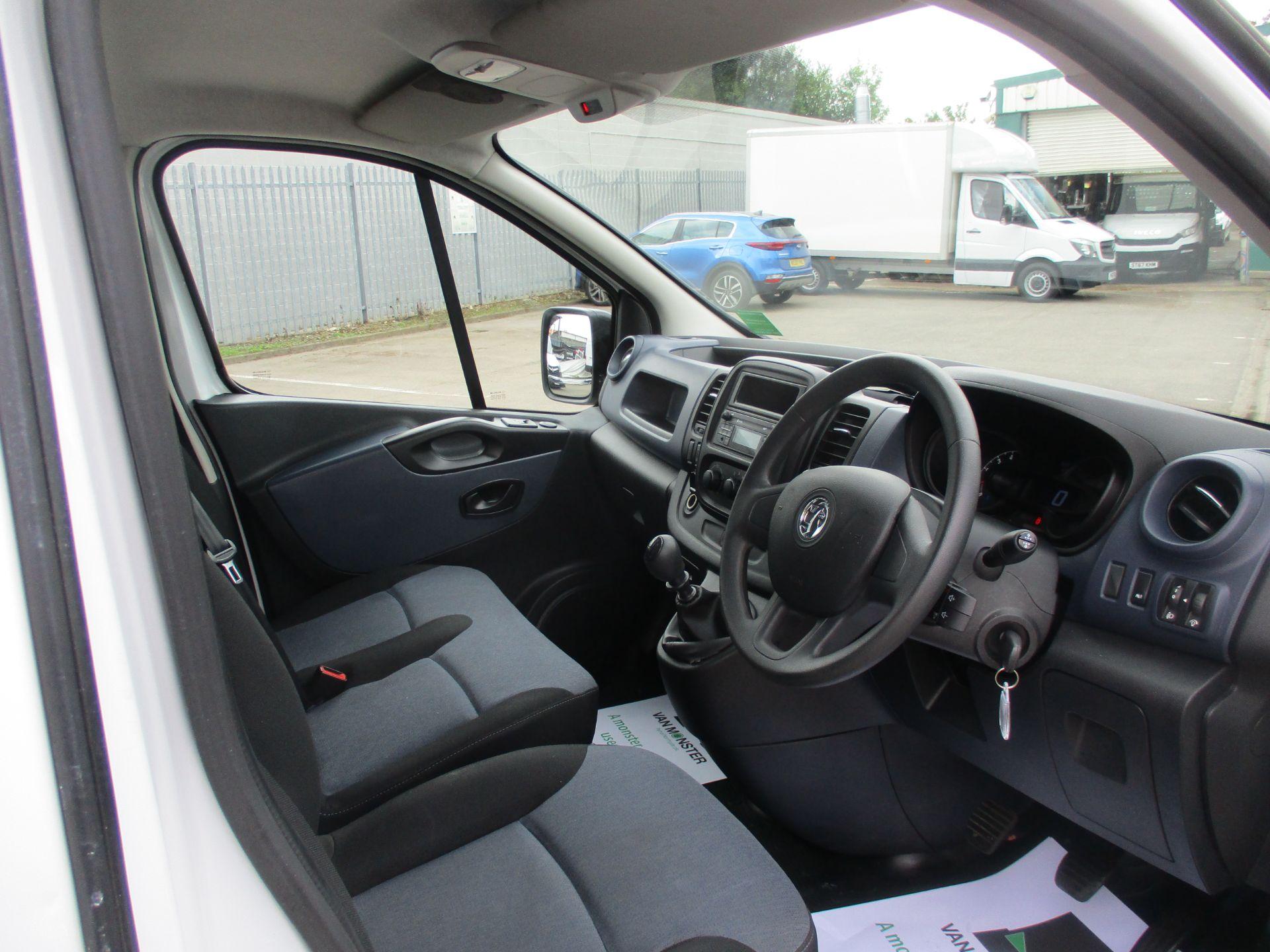 2017 Vauxhall Vivaro L2 H1 2900 1.6CDTI 120PS DOUBLE CAB  EURO 6 (DY67MYF) Image 12