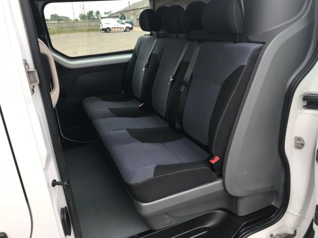 2017 Vauxhall Vivaro L2 H1 2900 1.6CDTI 120PS DOUBLE CAB  EURO 6 (DY67MYV) Image 11