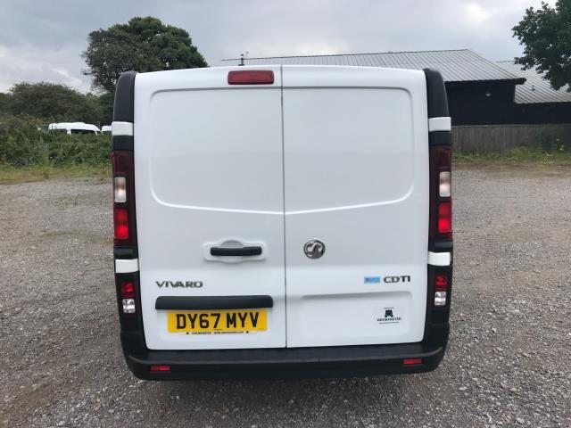 2017 Vauxhall Vivaro L2 H1 2900 1.6CDTI 120PS DOUBLE CAB  EURO 6 (DY67MYV) Image 5