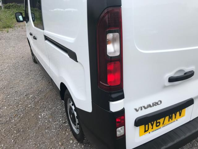 2017 Vauxhall Vivaro L2 H1 2900 1.6CDTI 120PS DOUBLE CAB  EURO 6 (DY67MYV) Image 18