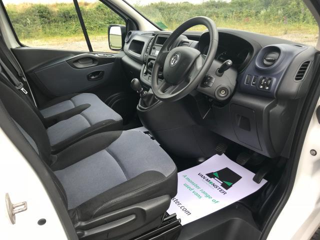 2017 Vauxhall Vivaro L2 H1 2900 1.6CDTI 120PS DOUBLE CAB  EURO 6 (DY67MYV) Image 27