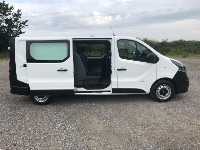 2017 Vauxhall Vivaro L2 H1 2900 1.6CDTI 120PS DOUBLE CAB  EURO 6 (DY67MYV) Image 10