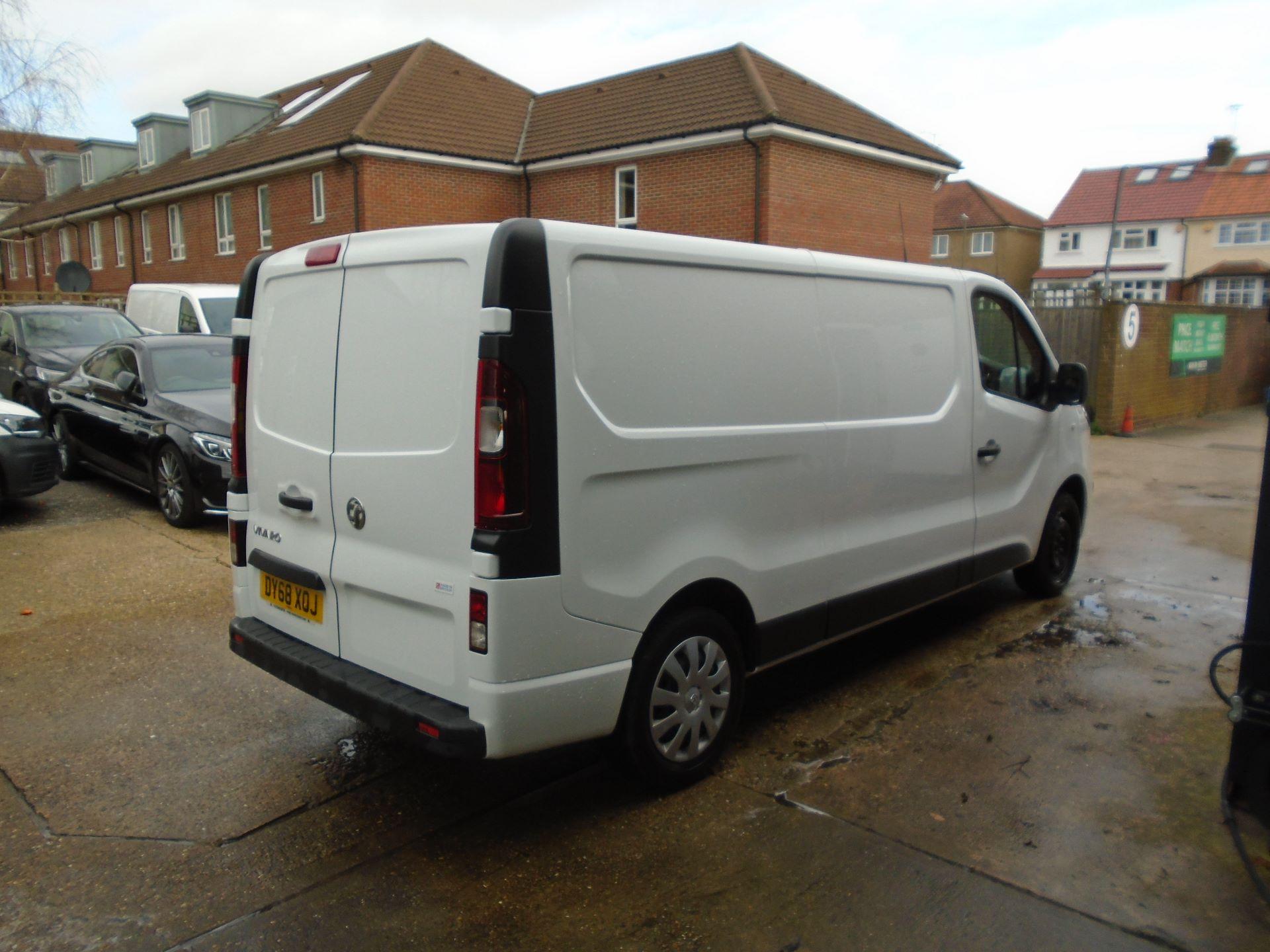 2018 Vauxhall Vivaro 2900 1.6Cdti 120Ps Sportive H1 Van( EURO 6) (DY68XOJ) Image 7