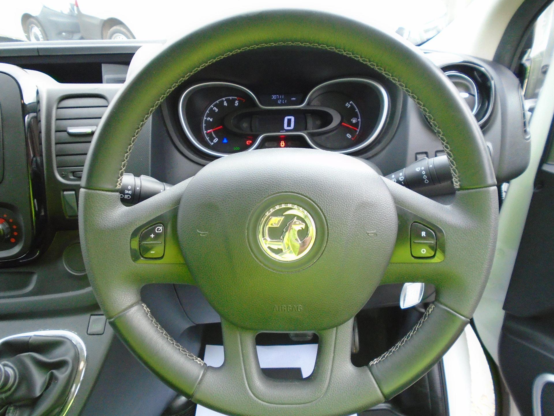 2018 Vauxhall Vivaro 2900 1.6Cdti 120Ps Sportive H1 Van( EURO 6) (DY68XOJ) Image 16