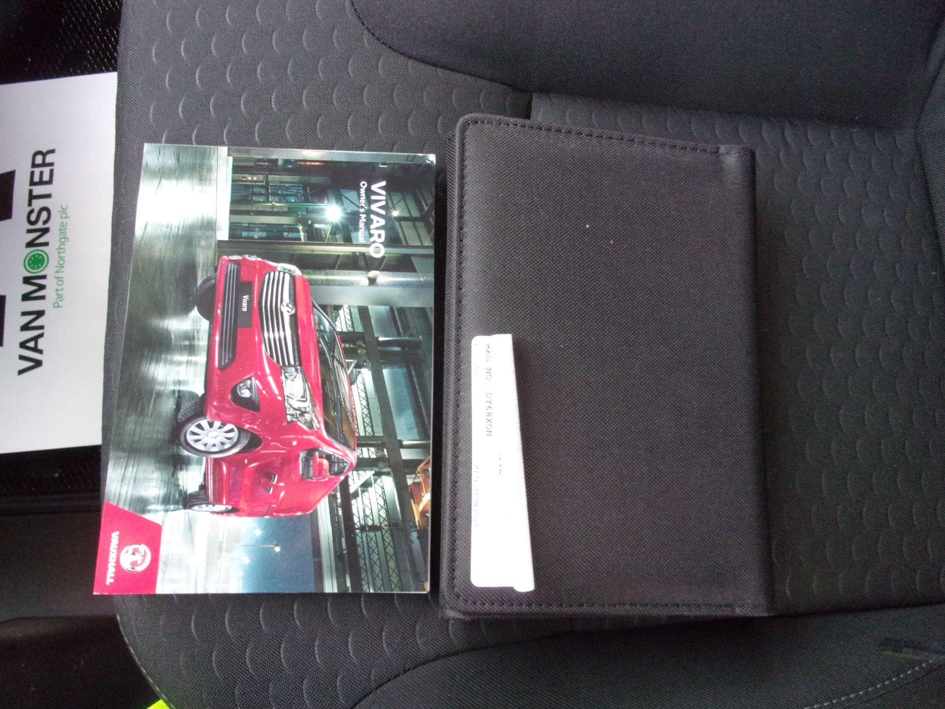 2018 Vauxhall Vivaro L2 H1 2900 1.6 CDTI 120PS SPORTIVE VAN EURO 6 (DY68XON) Image 25