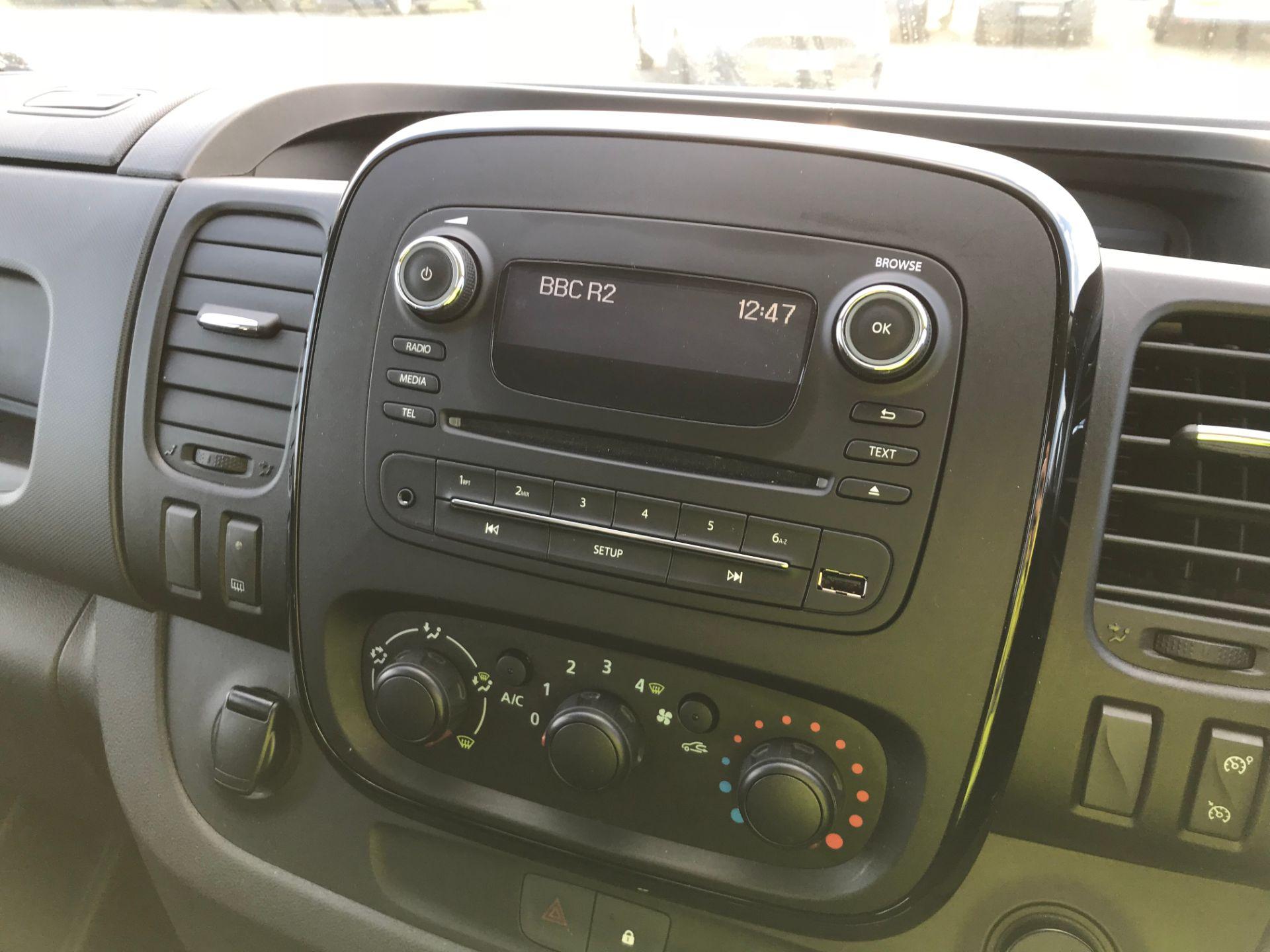2018 Vauxhall Vivaro 2900 1.6Cdti 120Ps Sportive H1 Van (DY68XRU) Image 10