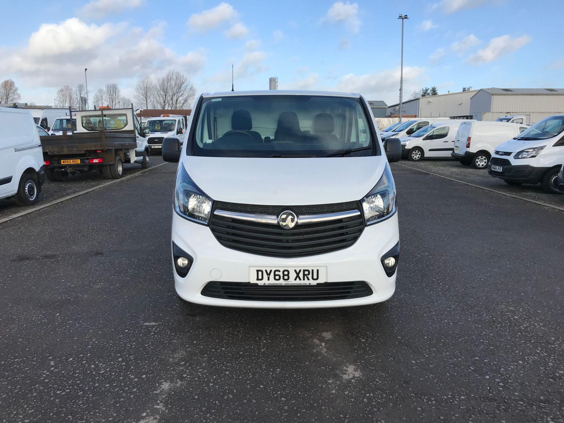 2018 Vauxhall Vivaro 2900 1.6Cdti 120Ps Sportive H1 Van (DY68XRU) Image 2