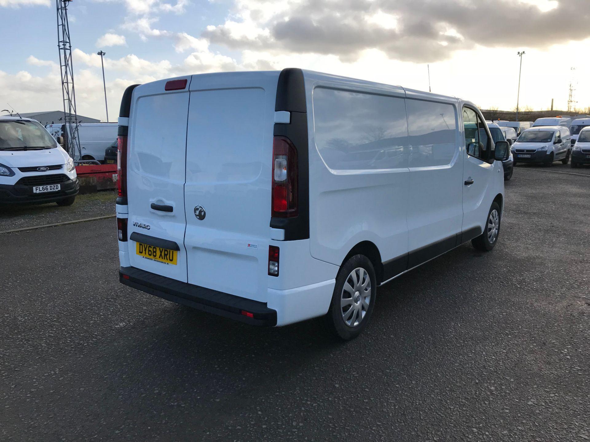 2018 Vauxhall Vivaro 2900 1.6Cdti 120Ps Sportive H1 Van (DY68XRU) Image 7