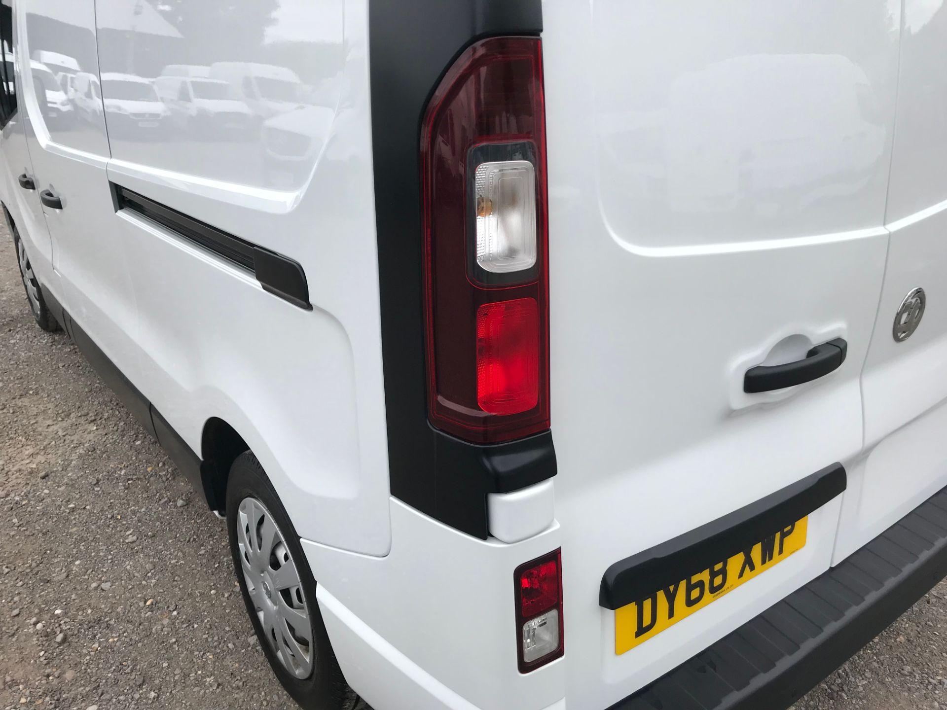 2018 Vauxhall Vivaro L2 H1 2900 1.6CDTI 120PS SPORTIVE EURO 6 (DY68XWP) Image 16