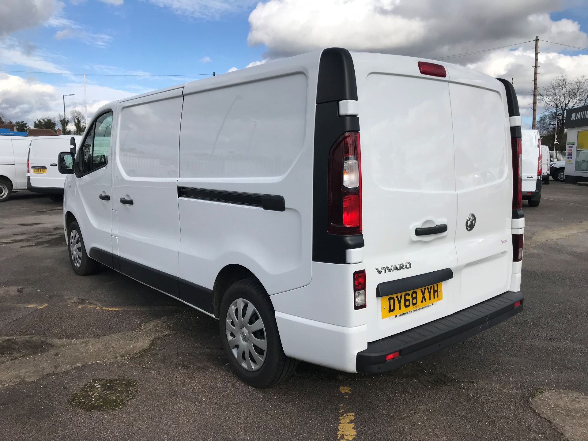 2018 Vauxhall Vivaro  L2 H1 2900 1.6 CDTI 120PS SPORTIVE EURO 6 (DY68XYH) Image 5