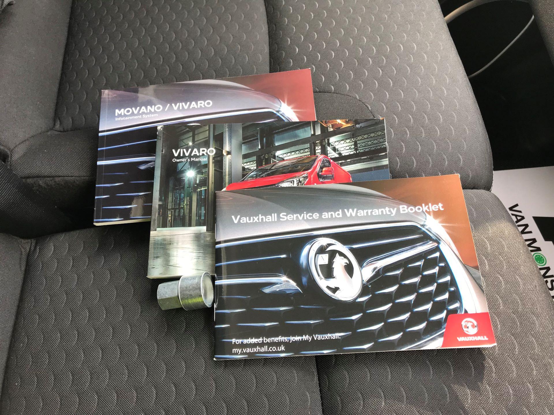 2018 Vauxhall Vivaro  L2 H1 2900 1.6 CDTI 120PS SPORTIVE EURO 6 (DY68XYH) Image 28