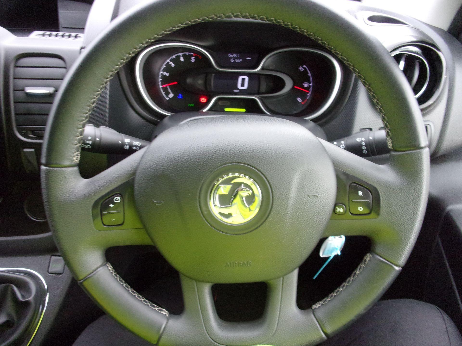 2018 Vauxhall Vivaro L1 H1 2900 1.6 CDTI 120PS SPORTIVE VAN EURO 6 (DY68YYE) Image 6