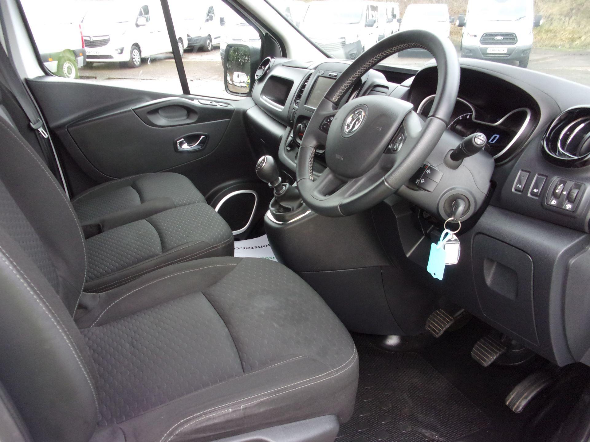 2018 Vauxhall Vivaro L1 H1 2900 1.6 CDTI 120PS SPORTIVE VAN EURO 6 (DY68YYE) Image 2