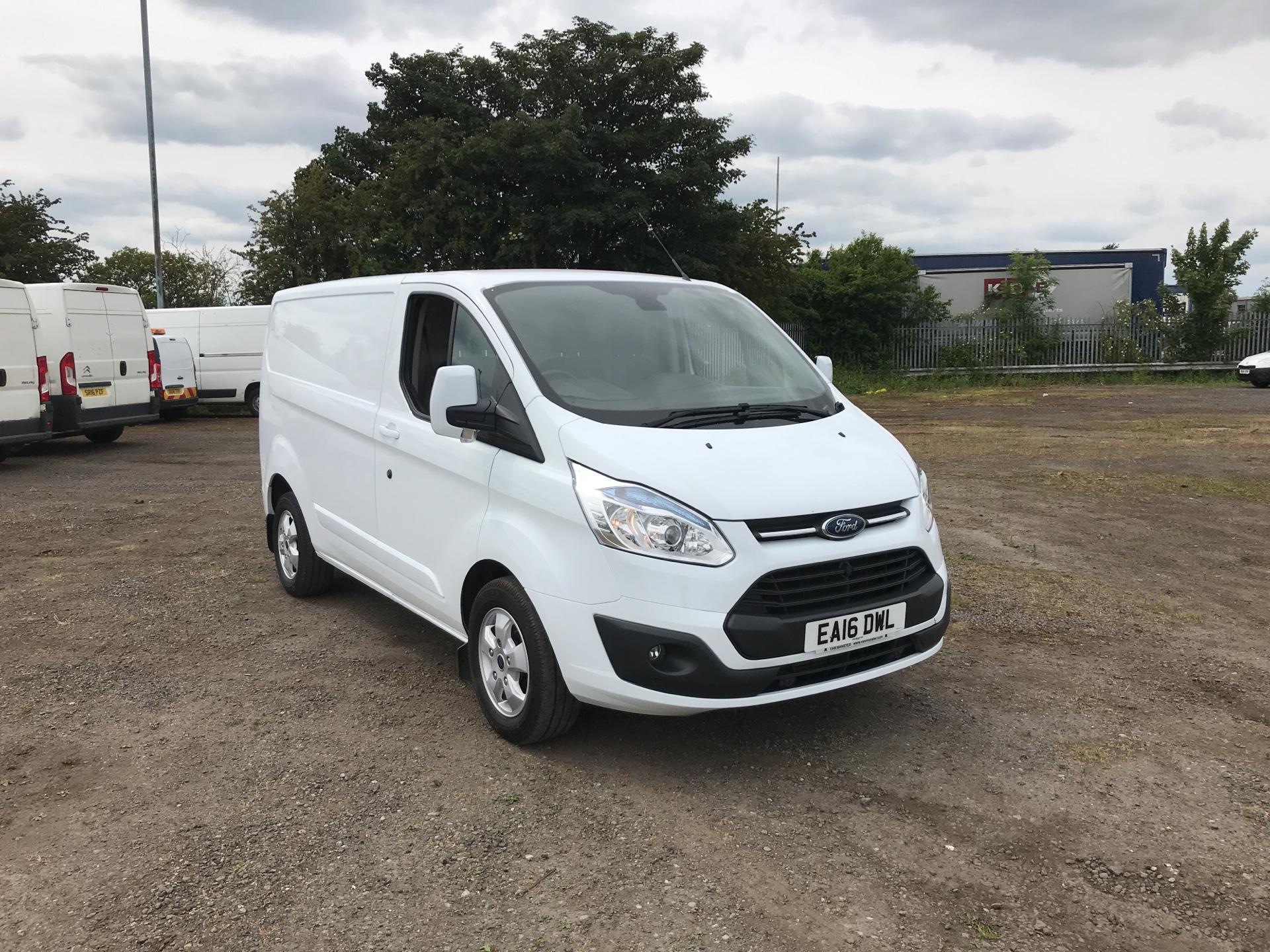 2016 Ford Transit Custom 290 L1 DIESEL FWD 2.2 TDCI 125PS LOW ROOF LIMITED VAN EURO 5