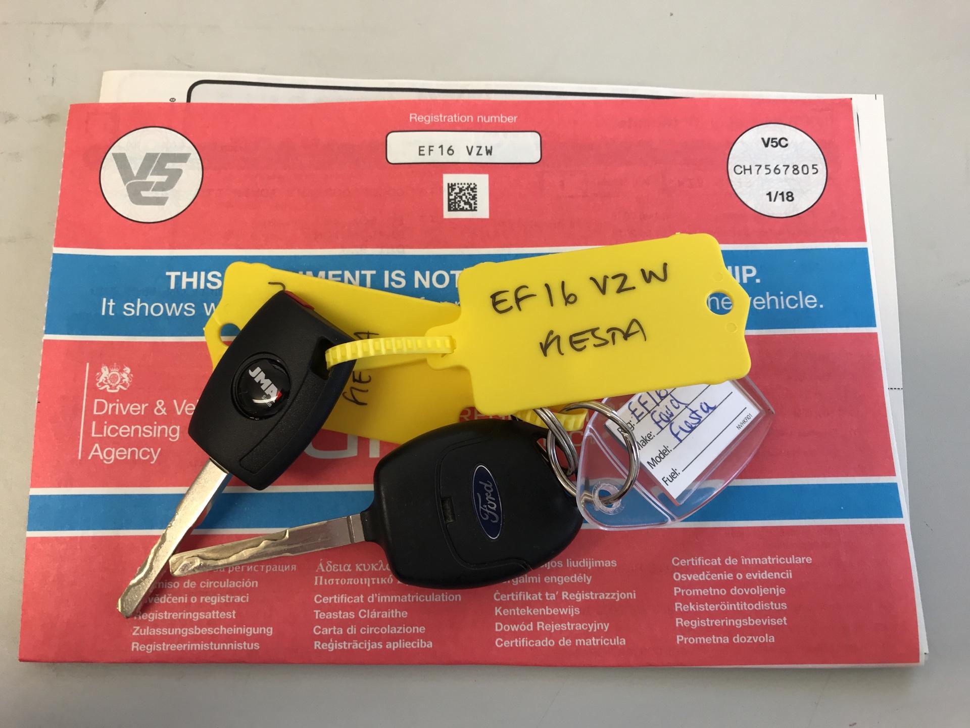 2016 Ford Fiesta DIESEL 1.5 TDCI VAN EURO 5/6 (EF16VZW) Image 19