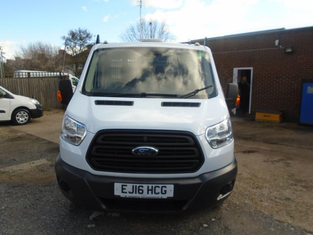 2016 Ford Transit T350 Tdci 125Ps Heavy Duty Dropside EURO 5 (EJ16HCG) Thumbnail 2