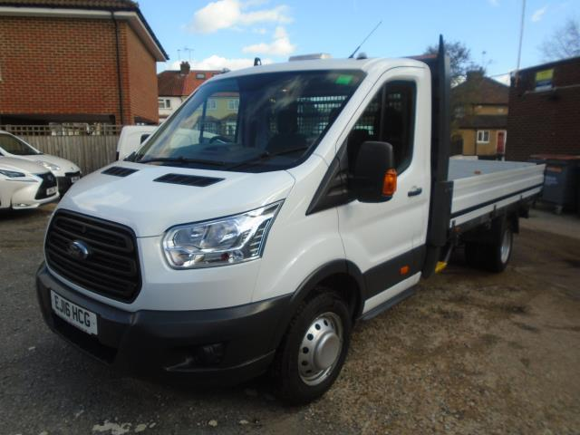 2016 Ford Transit T350 Tdci 125Ps Heavy Duty Dropside EURO 5 (EJ16HCG) Thumbnail 3