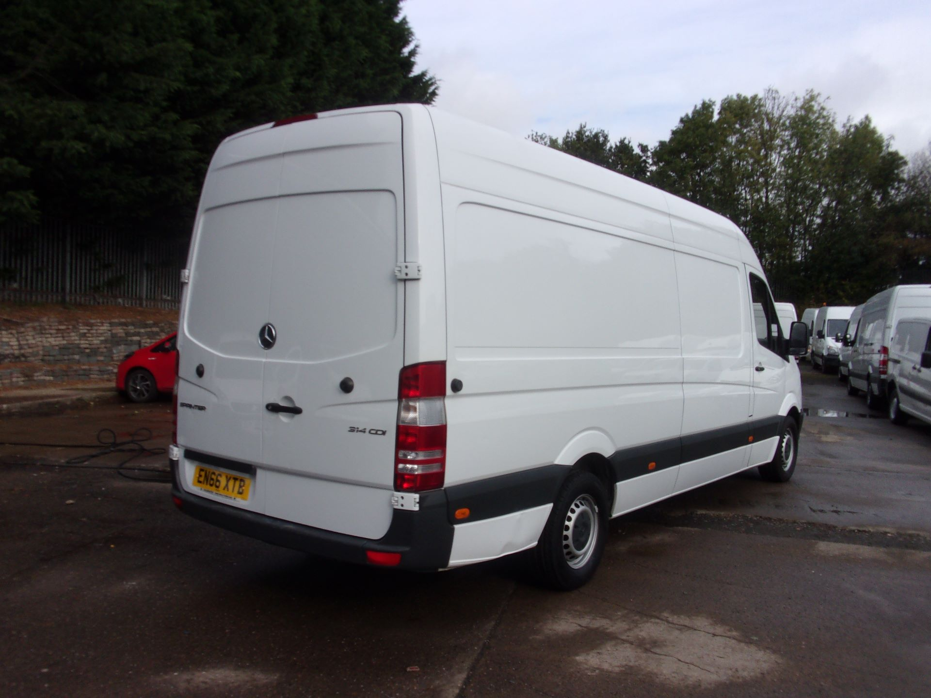 2016 Mercedes-Benz Sprinter 314 CDI LWB HIGH ROOF EURO 6 (EN66XTB) Image 9