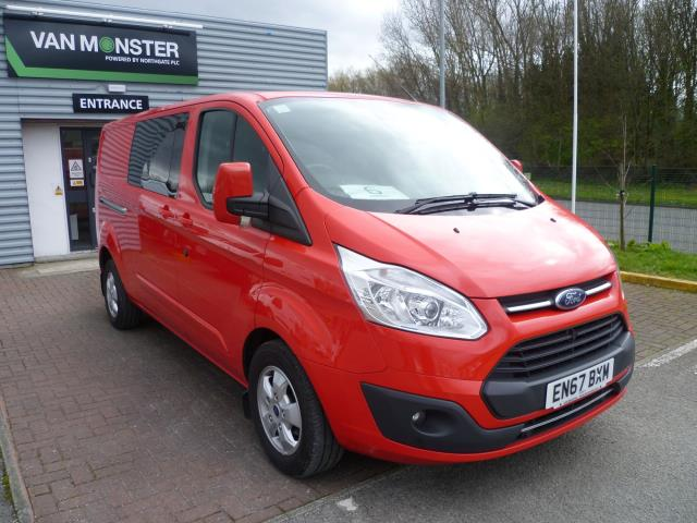 2017 Ford Transit Custom 2.0 TDCi 130ps Low Roof D/Cab Limited Van Auto EURO 6 (EN67BXM)