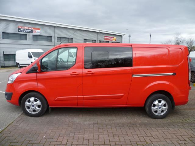 2017 Ford Transit Custom 2.0 TDCi 130ps Low Roof D/Cab Limited Van Auto EURO 6 (EN67BXM) Image 10