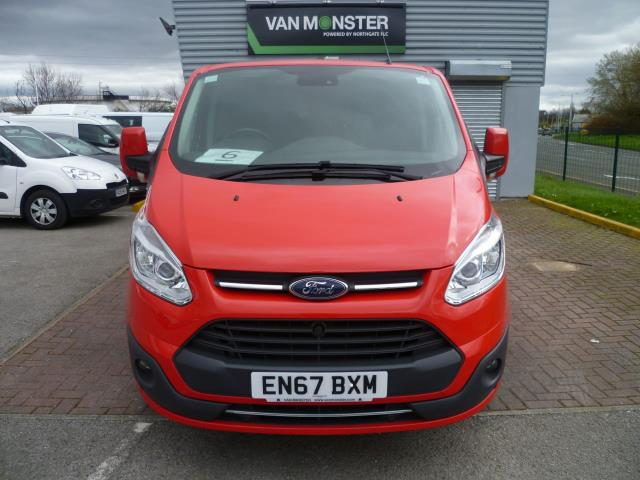 2017 Ford Transit Custom 2.0 TDCi 130ps Low Roof D/Cab Limited Van Auto EURO 6 (EN67BXM) Image 3