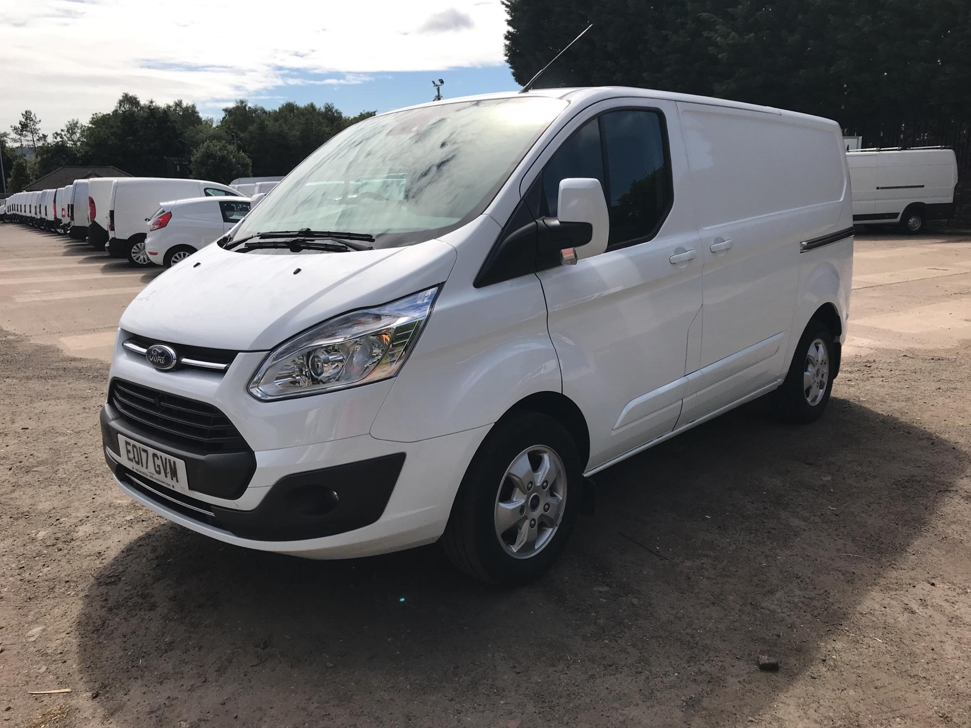 2017 Ford Transit Custom 270 L1 DIESEL FWD 2.0 TDCI 130PS LOW ROOF LIMITED EURO 6 (EO17GVM) Thumbnail 7