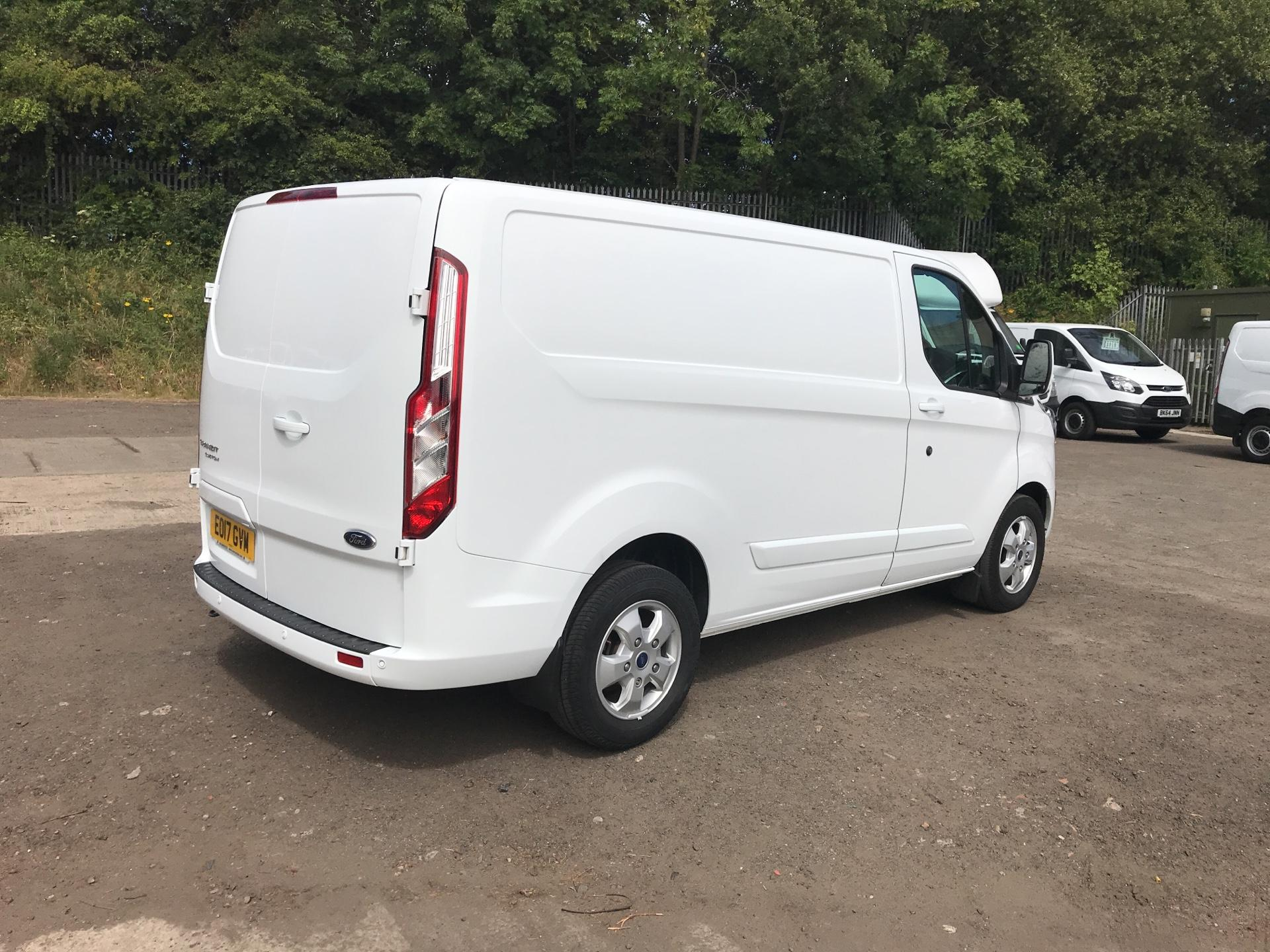 2017 Ford Transit Custom 270 L1 DIESEL FWD 2.0 TDCI 130PS LOW ROOF LIMITED EURO 6 (EO17GVM) Thumbnail 3