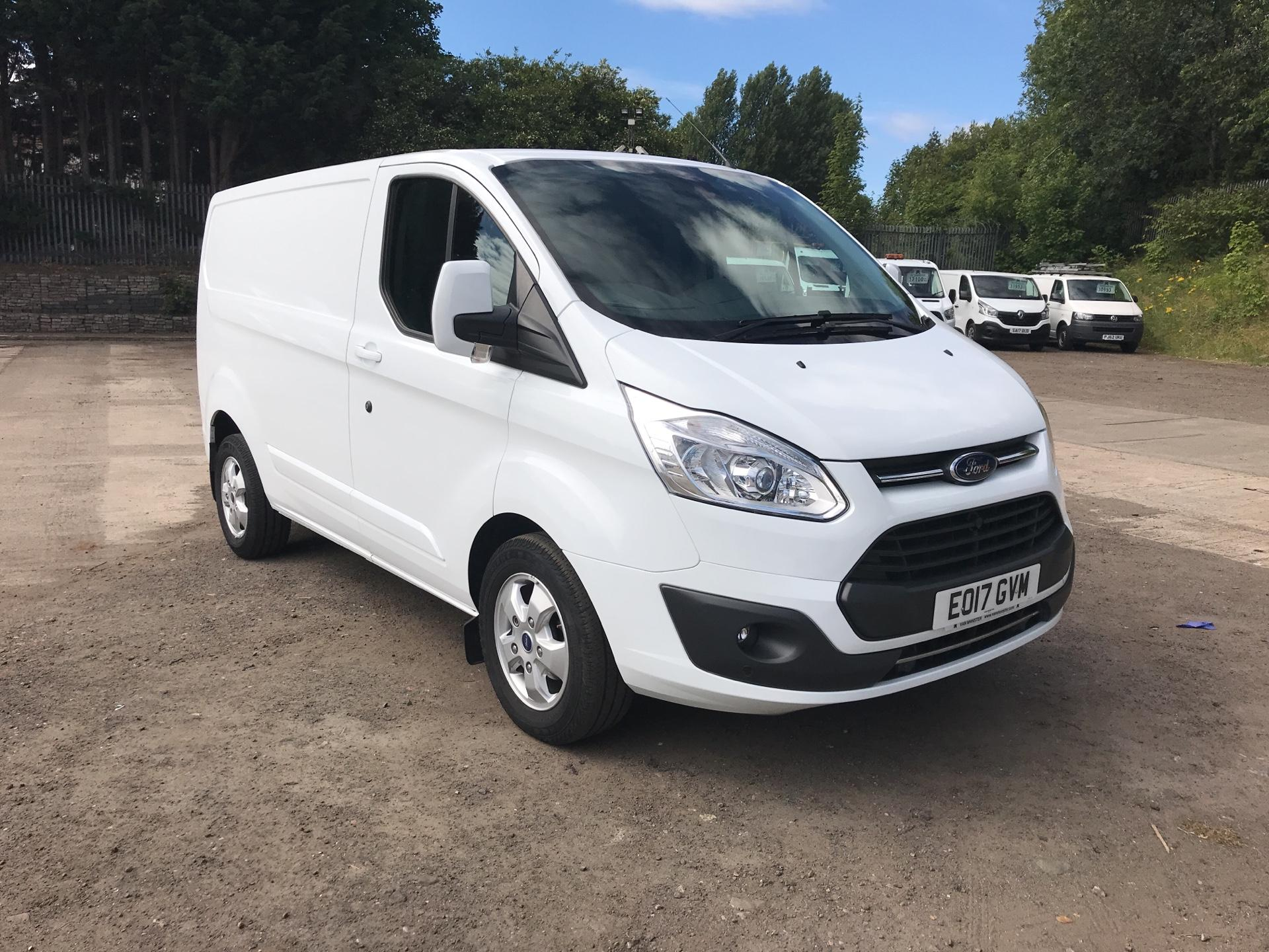 2017 Ford Transit Custom 270 L1 DIESEL FWD 2.0 TDCI 130PS LOW ROOF LIMITED EURO 6 (EO17GVM) Thumbnail 1