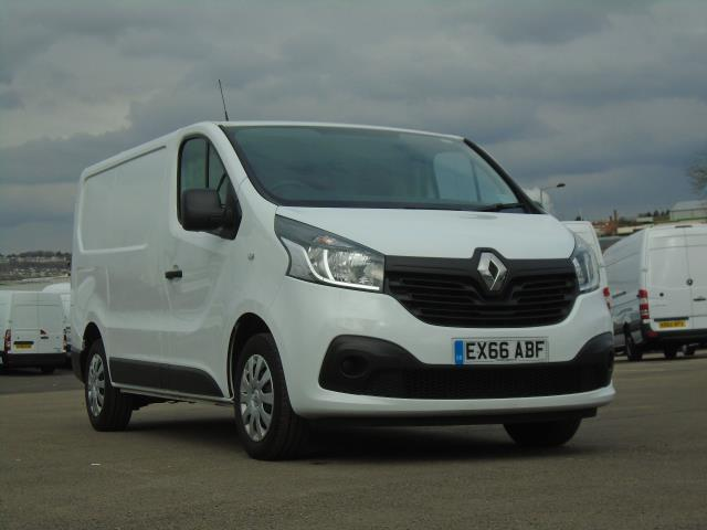 2016 Renault Trafic Sl27 Energy Dci 125 Business+ Van (EX66ABF) Thumbnail 1