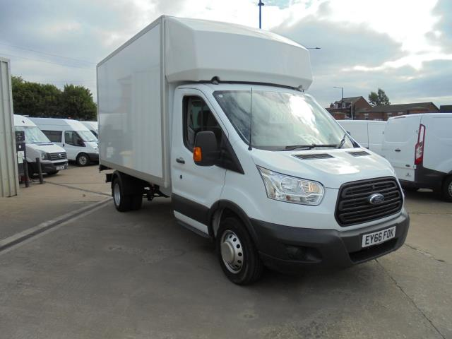2016 Ford Transit 2.2 TDCI 125PS ONE STOP LUTON VAN (EY66FOK)