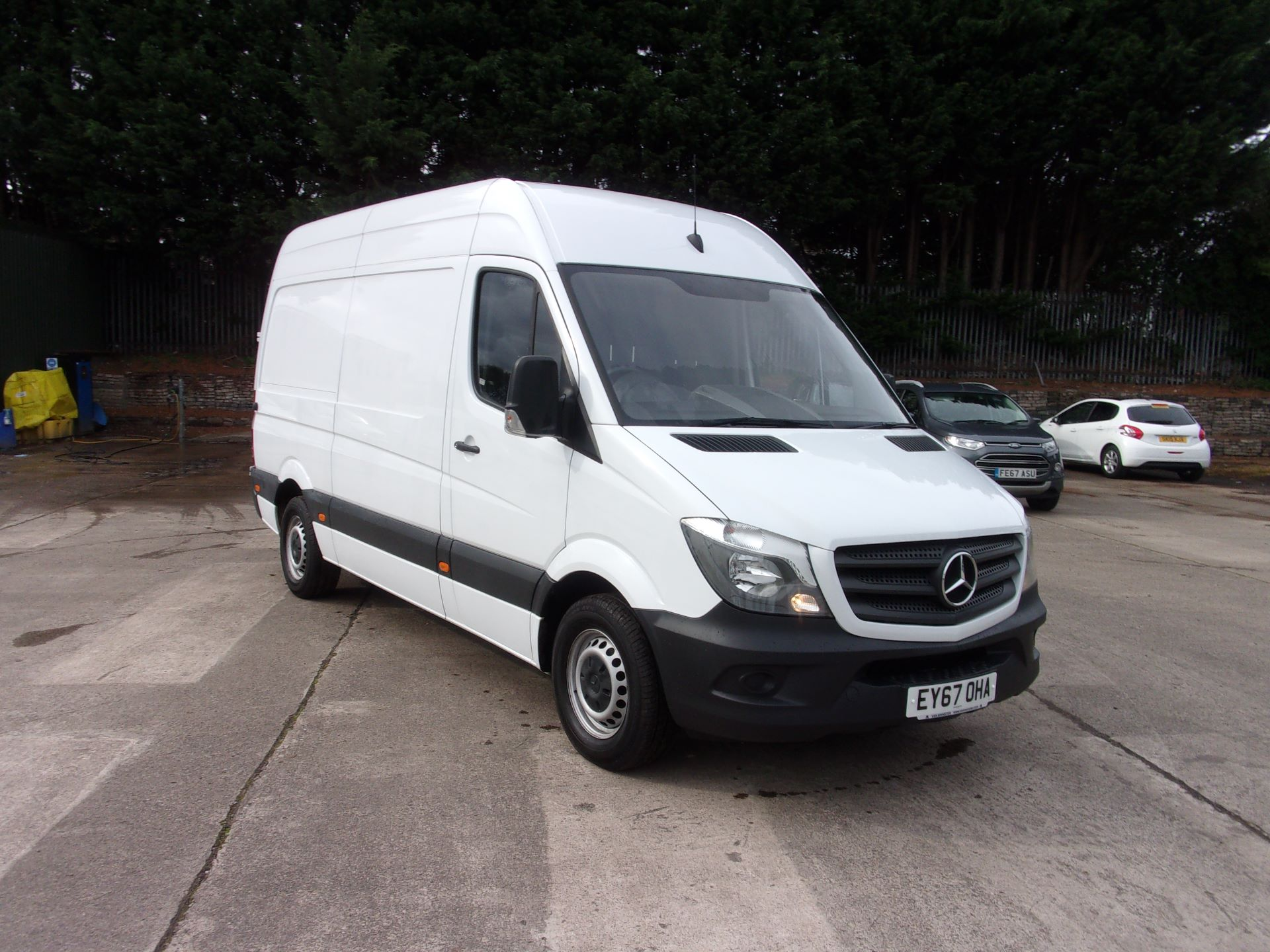 2017 Mercedes-Benz Sprinter 314 CDI MWB HIGH ROOF VAN EURO 6 (EY67OHA)