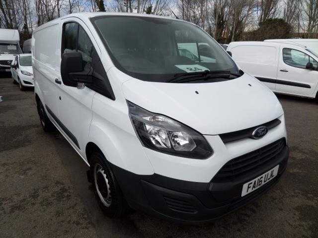 2016 Ford Transit Custom 290 L1 DIESEL FWD 2.2 Tdci 100Ps Low Roof Van EURO 5 (FA16UJL)