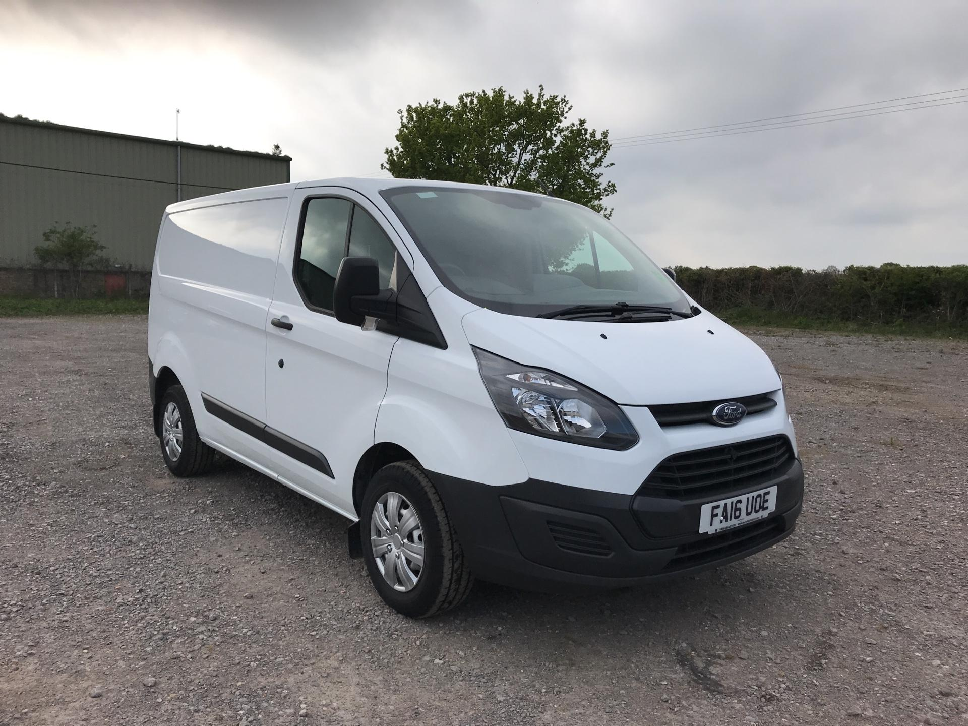 2016 Ford Transit Custom 290 L1 DIESEL FWD 2.2 TDCI 100PS LOW ROOF VAN EURO 5 (FA16UOE) Thumbnail 1