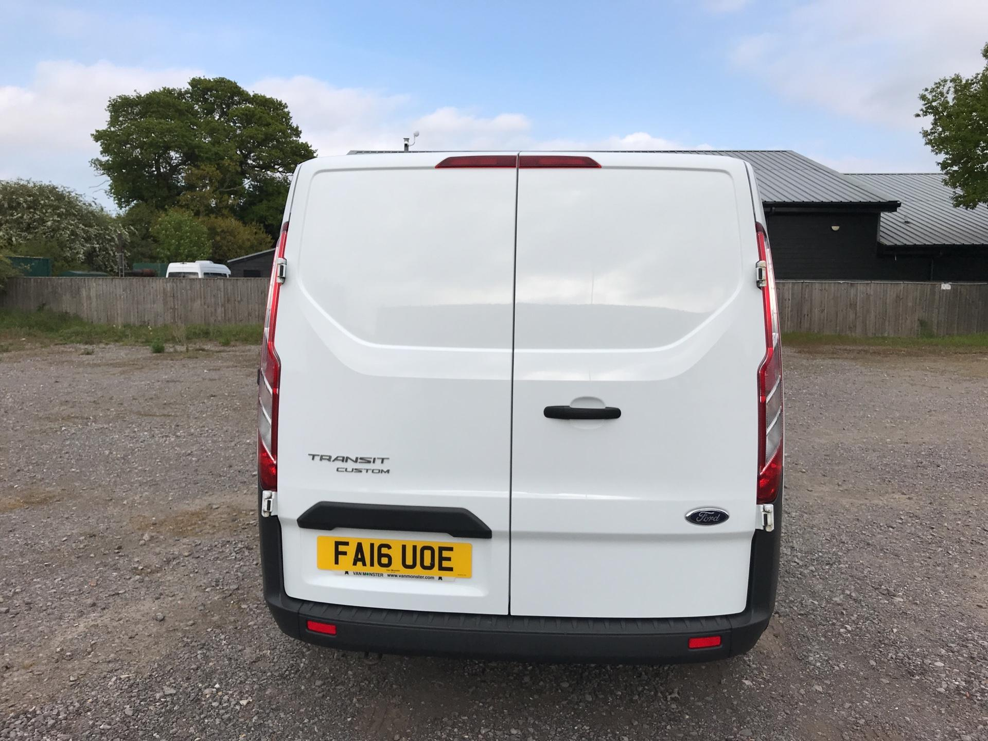 2016 Ford Transit Custom 290 L1 DIESEL FWD 2.2 TDCI 100PS LOW ROOF VAN EURO 5 (FA16UOE) Thumbnail 4