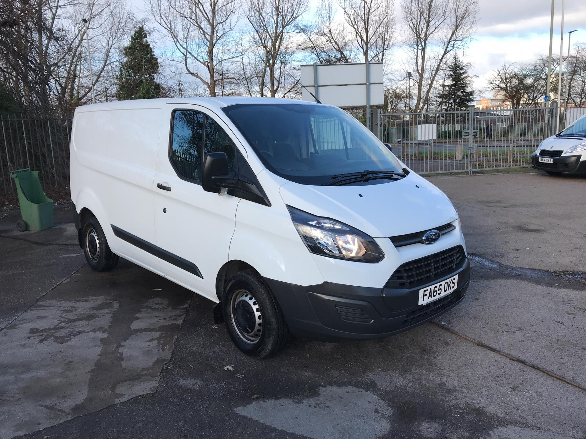 2016 Ford Transit Custom 290 L1 DIESEL FWD 2.2  TDCI 100PS LOW ROOF VAN EURO 5 *VALUE RANGE VEHICLE - CONDITION REFLECTED IN PRICE*  (FA65OKS)
