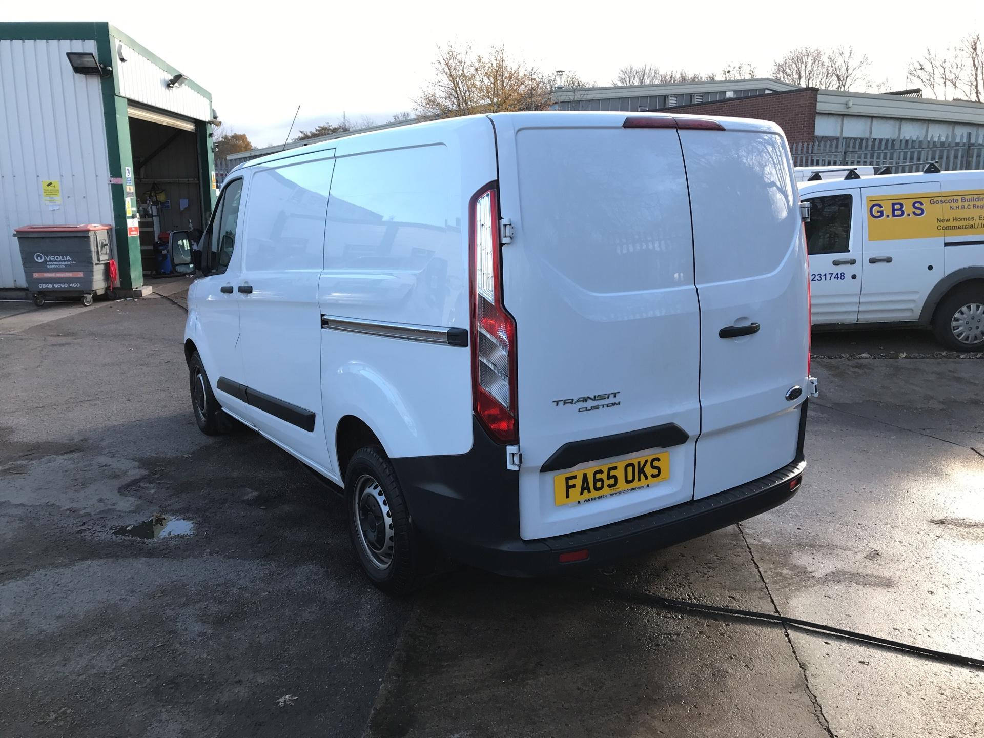 2016 Ford Transit Custom 290 L1 DIESEL FWD 2.2  TDCI 100PS LOW ROOF VAN EURO 5 *VALUE RANGE VEHICLE - CONDITION REFLECTED IN PRICE*  (FA65OKS) Image 5