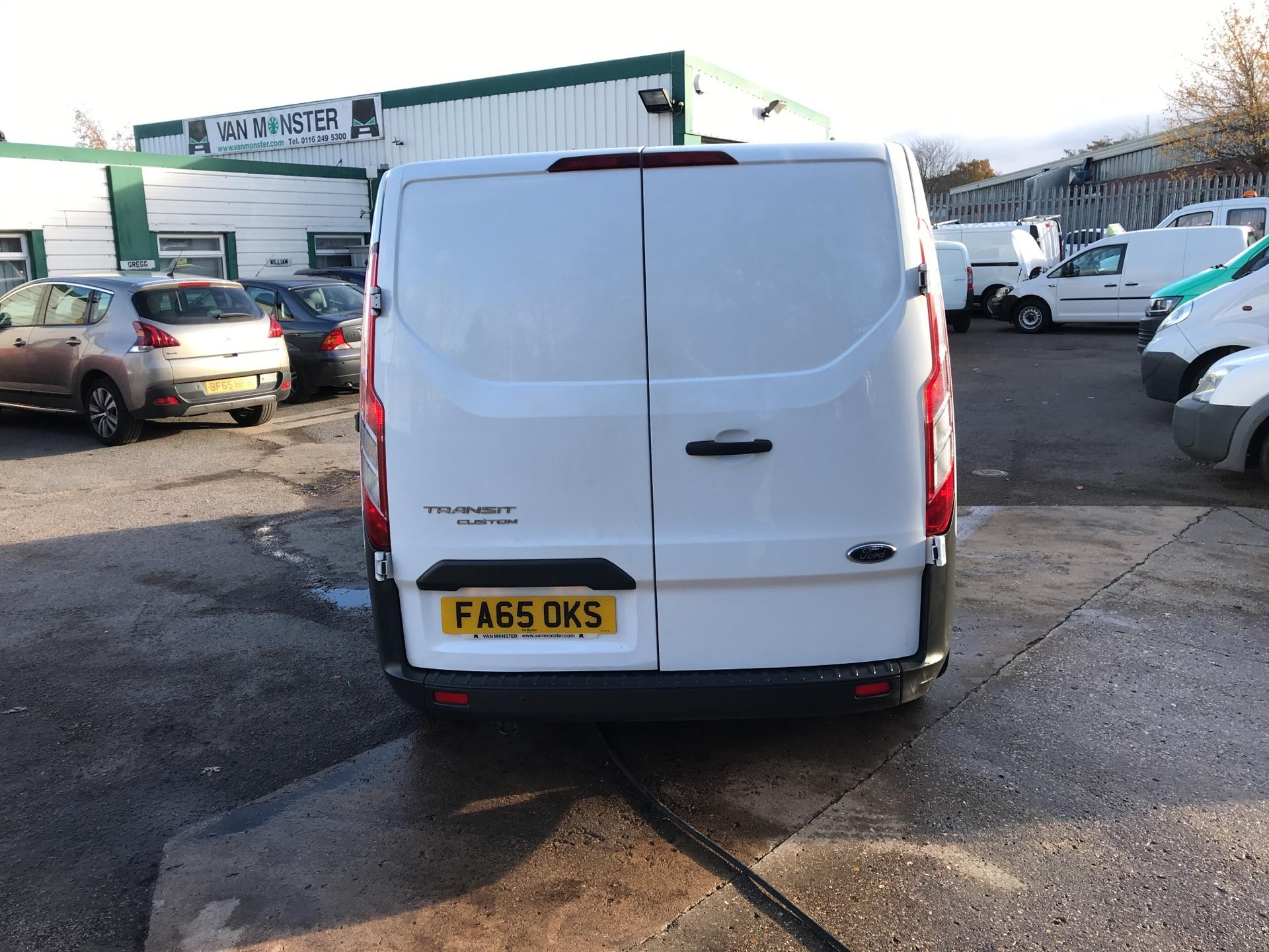 2016 Ford Transit Custom 290 L1 DIESEL FWD 2.2  TDCI 100PS LOW ROOF VAN EURO 5 *VALUE RANGE VEHICLE - CONDITION REFLECTED IN PRICE*  (FA65OKS) Image 4