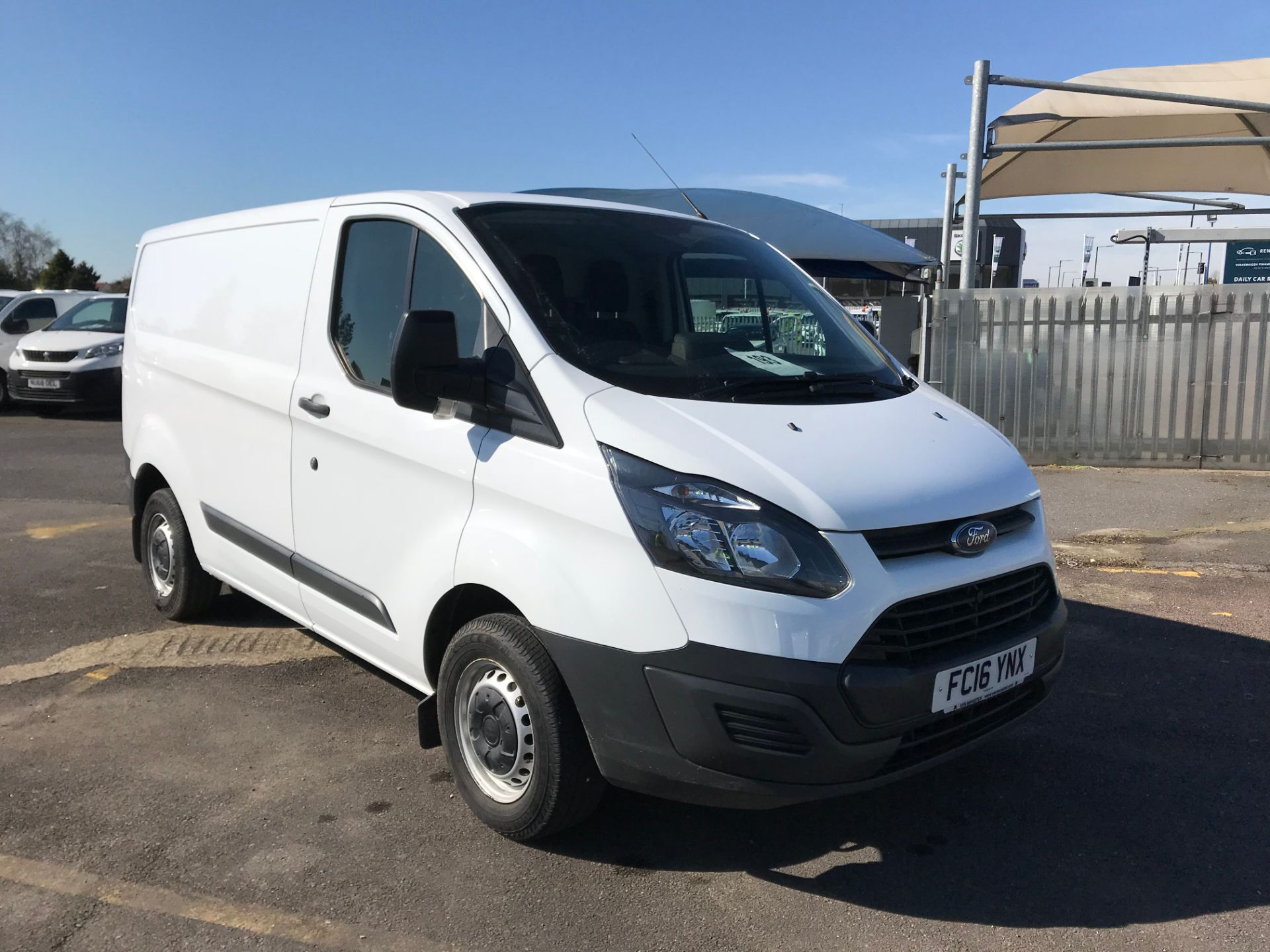 2016 Ford Transit Custom 290 L1 DIESEL FWD 2.2  TDCI 100PS LOW ROOF VAN EURO 5 (PARKING SENSORS) (FC16YNX)