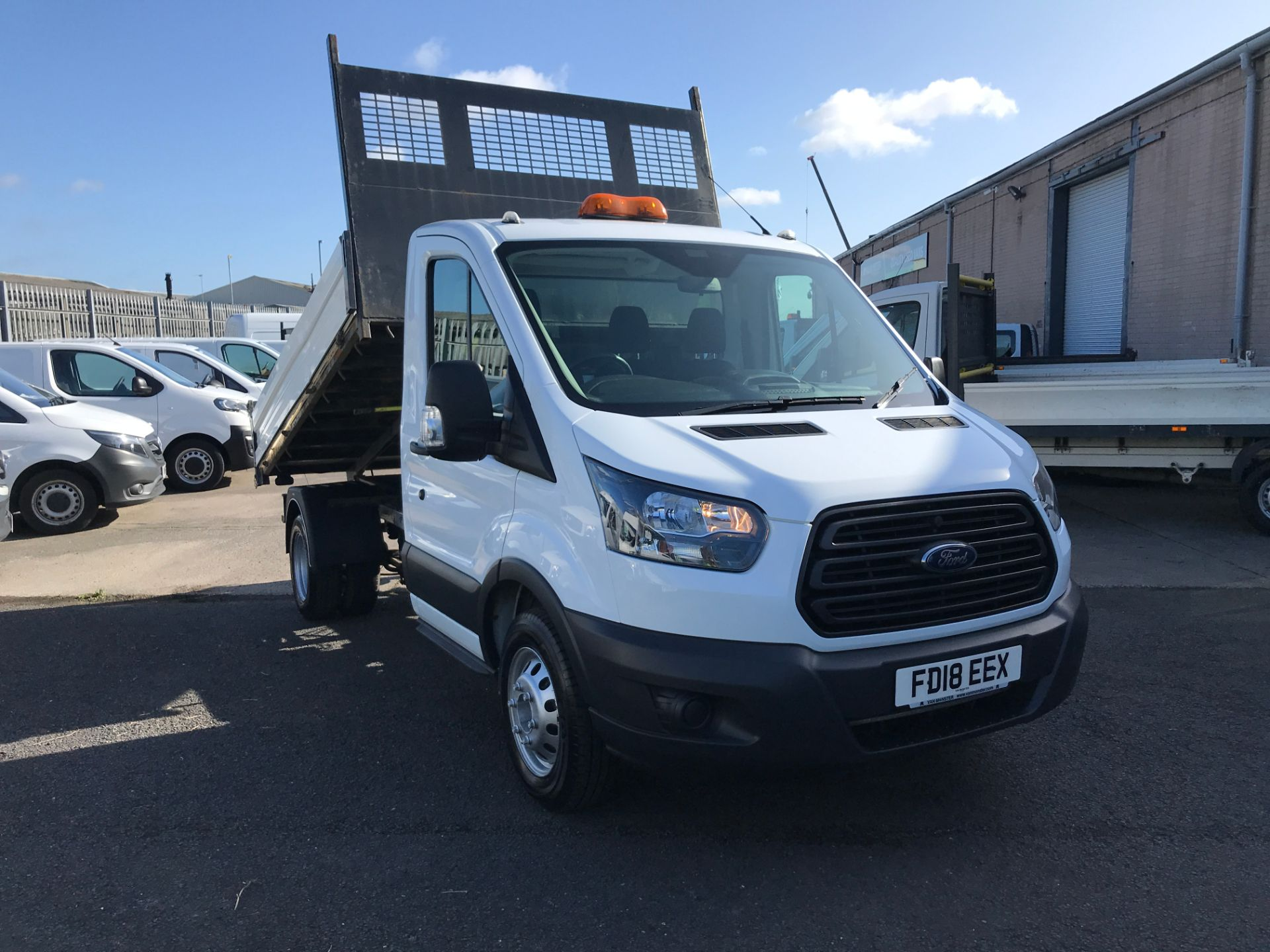 2018 Ford Transit T350 SINGLE CAB TIPPER 130PS EURO 5 (FD18EEX)