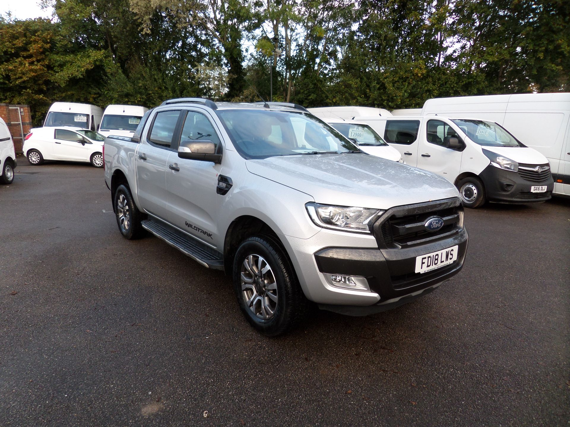 2018 Ford Ranger Pick Up Double Cab Wildtrak 3.2 Tdci 200 Euro 6 (FD18LWS)