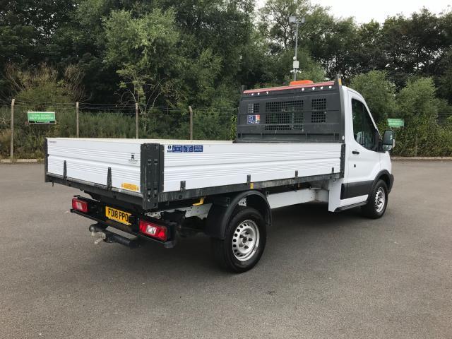 2018 Ford Transit  350 L2 SINGLE CAB TIPPER 130PS EURO 6 (FD18PPO) Image 9