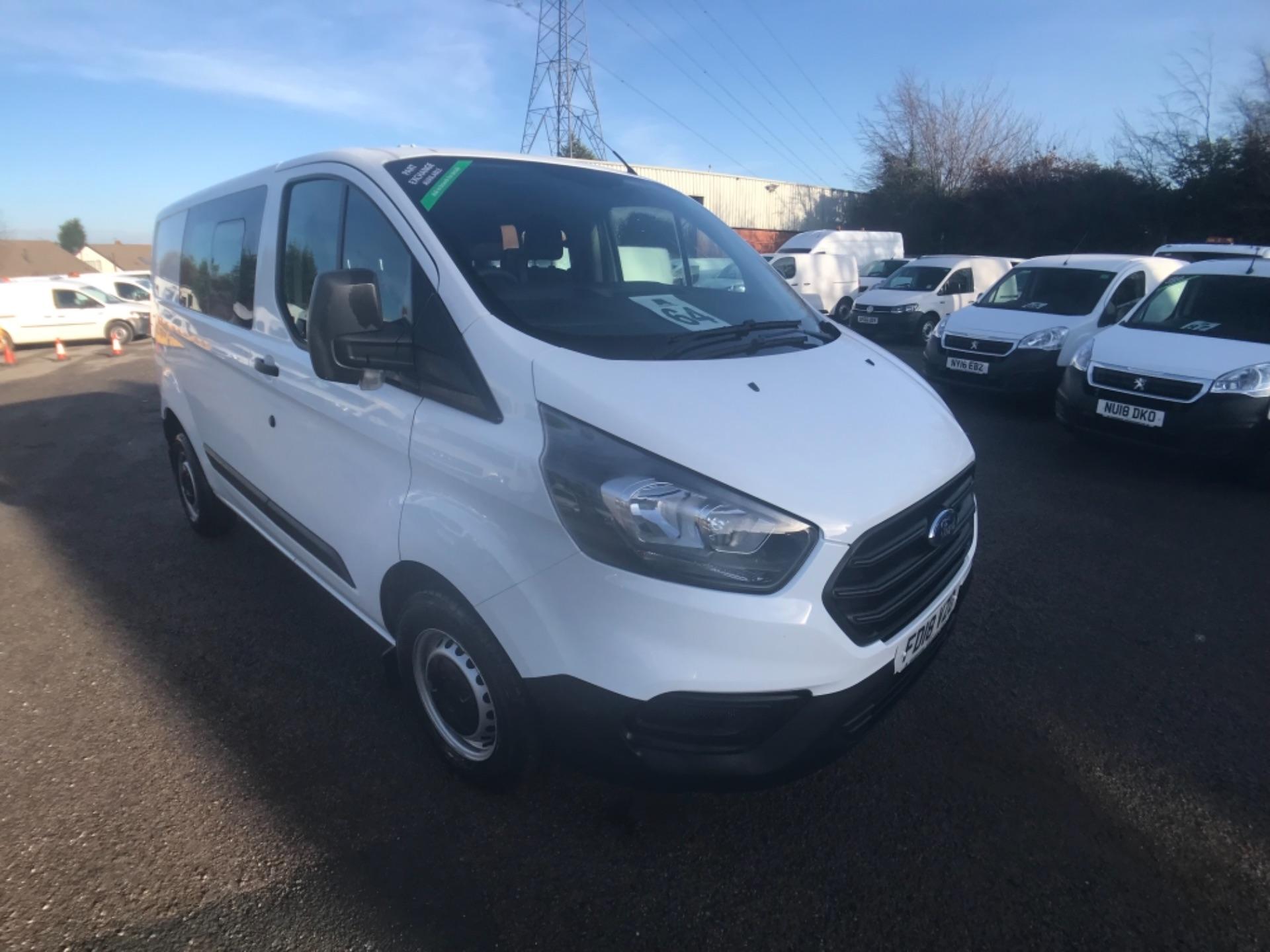 2018 Ford Transit Custom  300 L1 DIESEL FWD 2.0 TDCI 105PS LOW ROOF D/CAB VAN EURO 6 (FD18VZO)