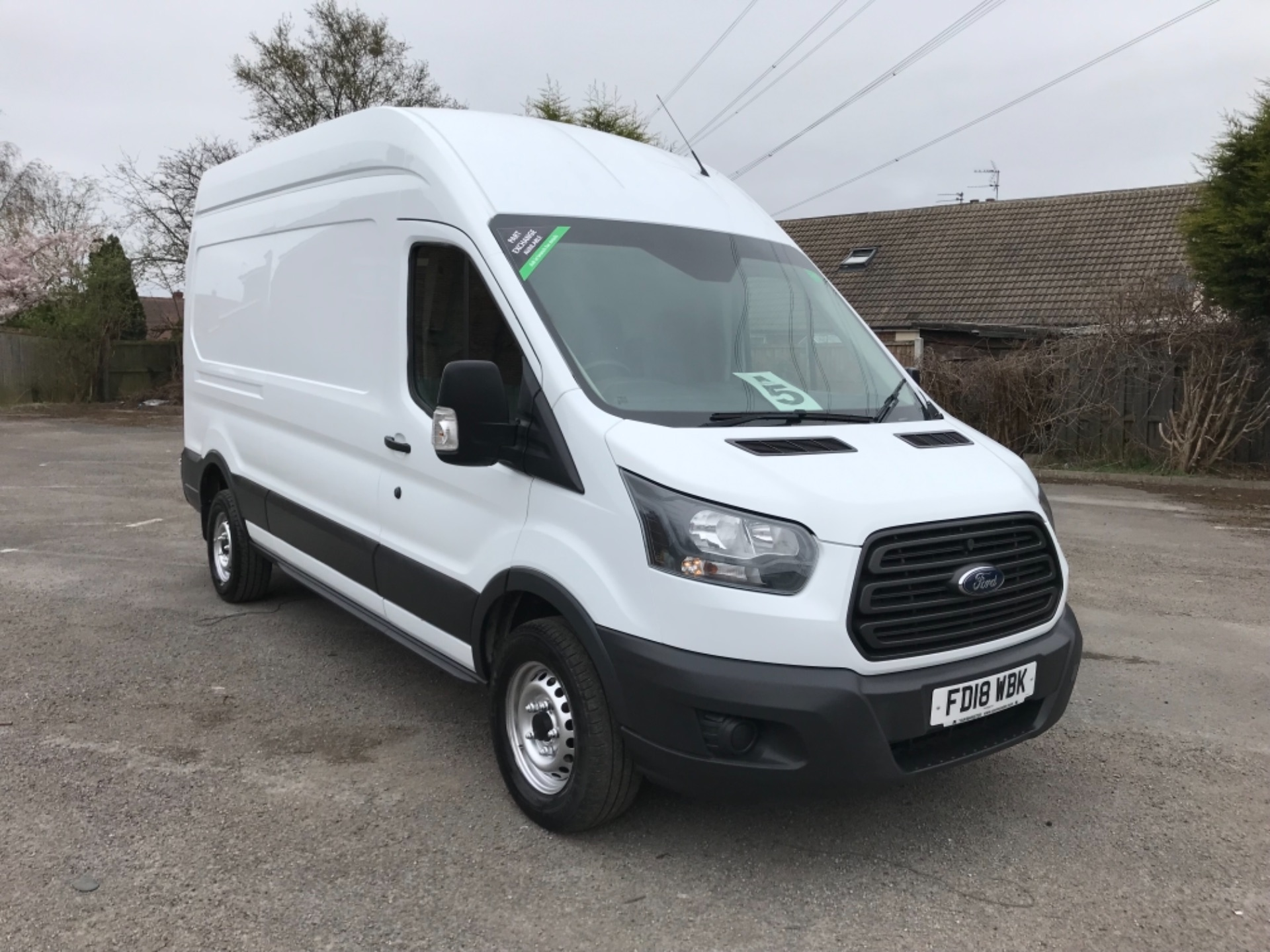 2018 Ford Transit 2.0 Tdci 130Ps H3 Van Euro 6 (FD18WBK)