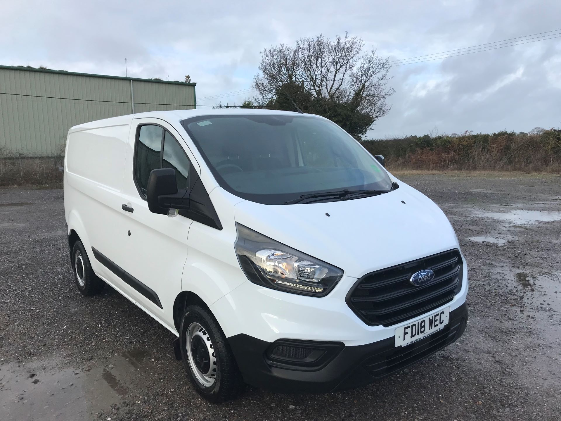 2018 Ford Transit Custom 300 L1 DIESEL FWD 2.0 TDCi 105ps Low Roof Van EURO 6 (FD18WEC)